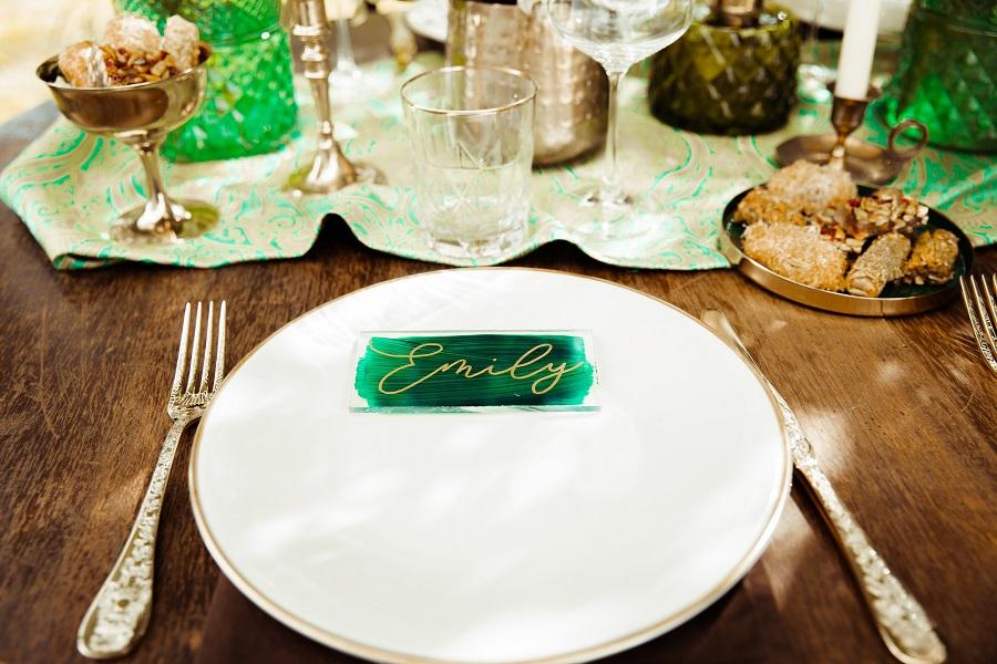 Deko Hochzeit grün
